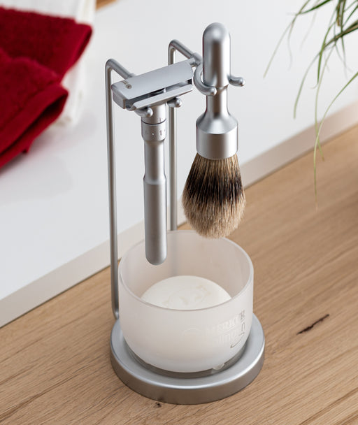 Merkur Futur 4pc Double Edge Safety Razor Shaving Set, Matte