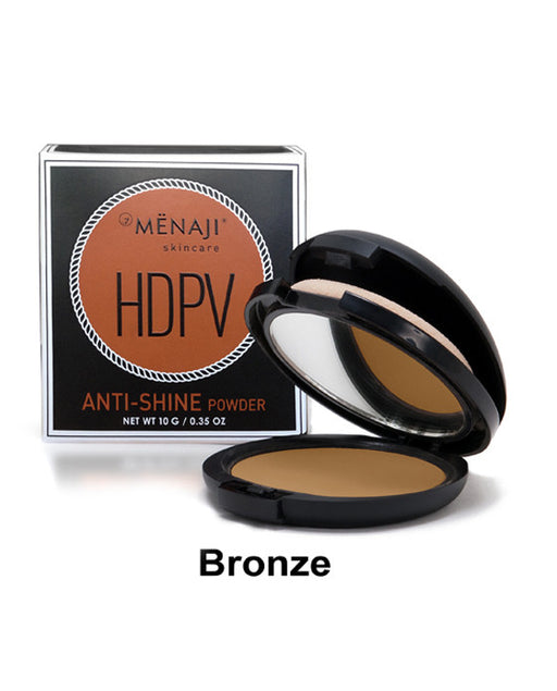 Menaji Skincare HDPV Anti-Shine Powder, Bronze