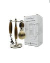 Rockwell Razors Three-Piece Shave Set (Brown)