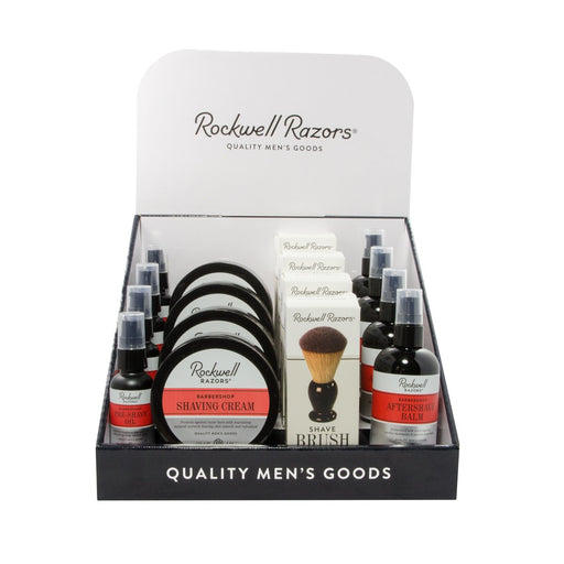 Rockwell Shave Softgoods Display Bundle