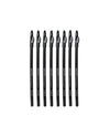 Scalpmaster 8 pc. Hair Design Pencil Set - Black