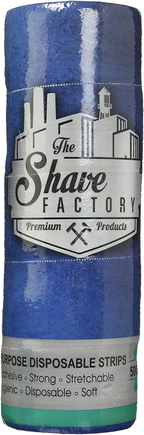 The Shave factory Neck Strips 100 Strips-5 roll Pack