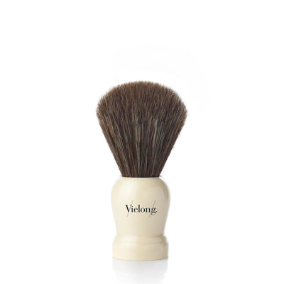 Vie-Long Horse Hair Shaving Brush, Cream Handle