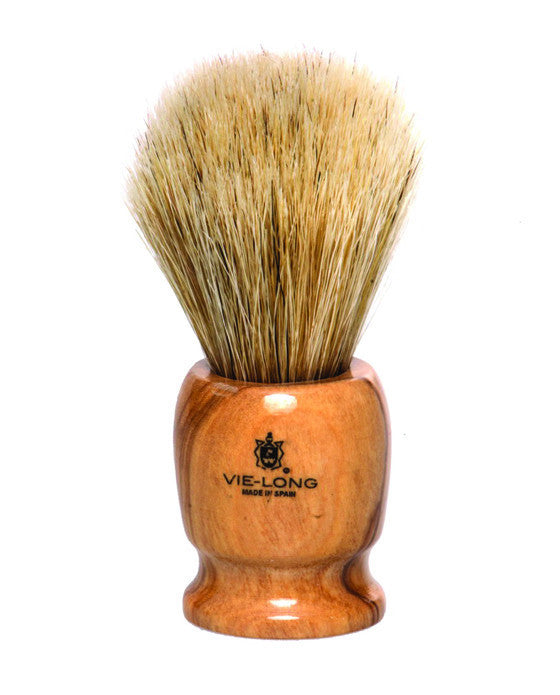 Vie-Long Horse Hair Shaving Brush, Wood Handle