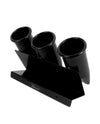 Vincent Backbar Clipper Holder Trio - Black