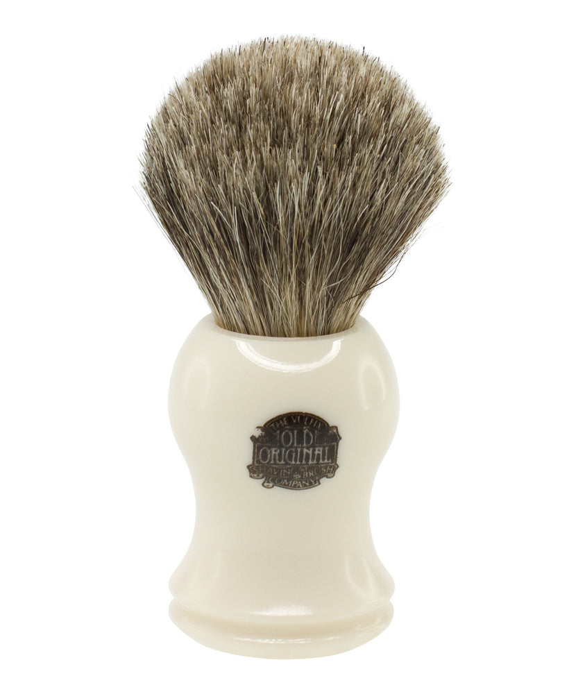 Progress Vulfix Pure Badger Shaving Brush, Cream Handle