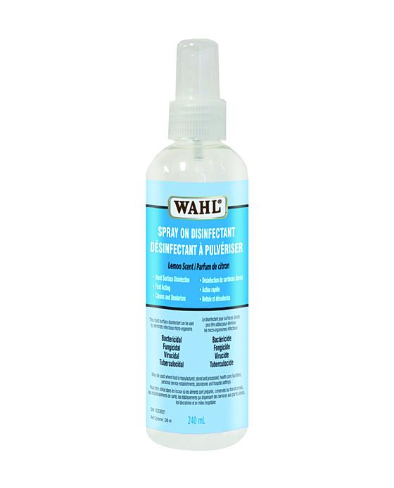 Wahl Spray On Disinfectant Spray (240ml) Wahl Disinfectant Course Promo ( 5 Pack)