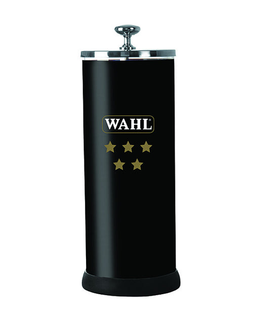 "Wahl 5 Star Disinfectant Jar (Black) - 4"" X 10"""
