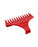 Wahl Professional #1-1/2 Red Detailer T-Shaped Guide