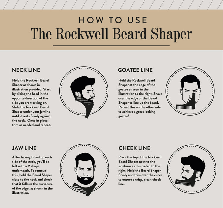 How to us the Rockwell Beard Plastic Shaper