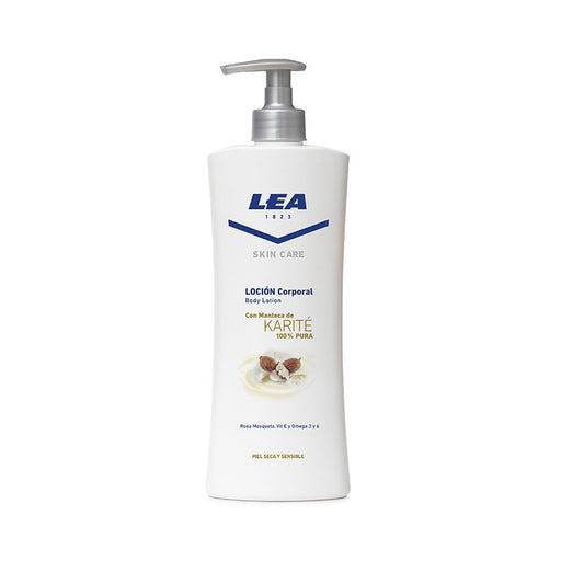 Lea Skin Care 100% Shea Butter Body Lotion (400 ml)