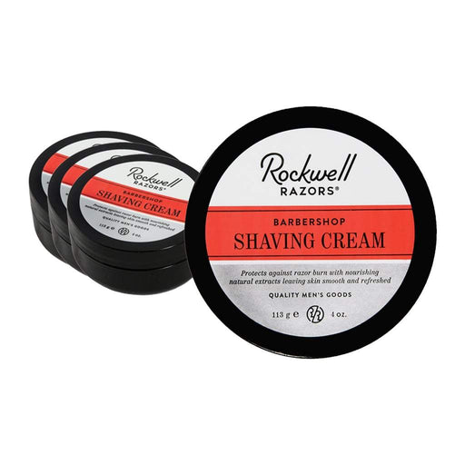 Rockwell Razors Shave Cream - Barbershop Scent (Case Pack of 4)