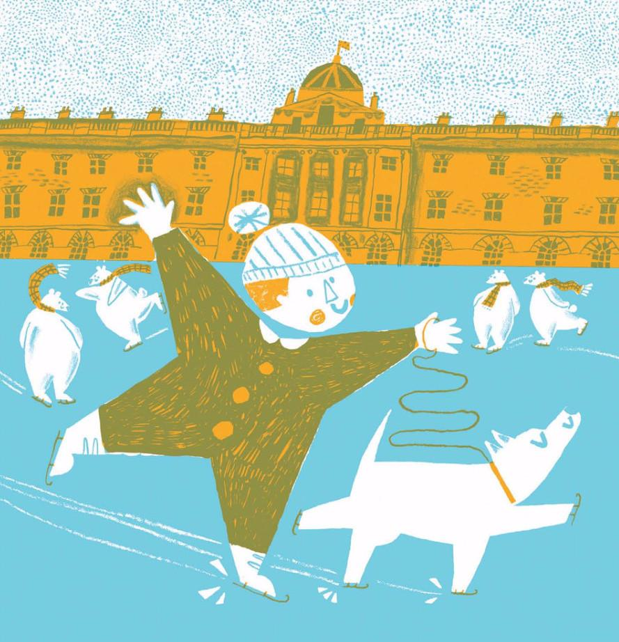 Somerset House Card by Toby Rampton