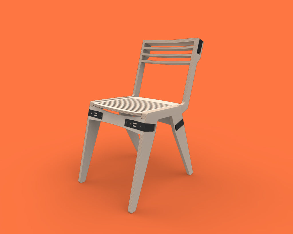 Fuzl Chair - Charcoal