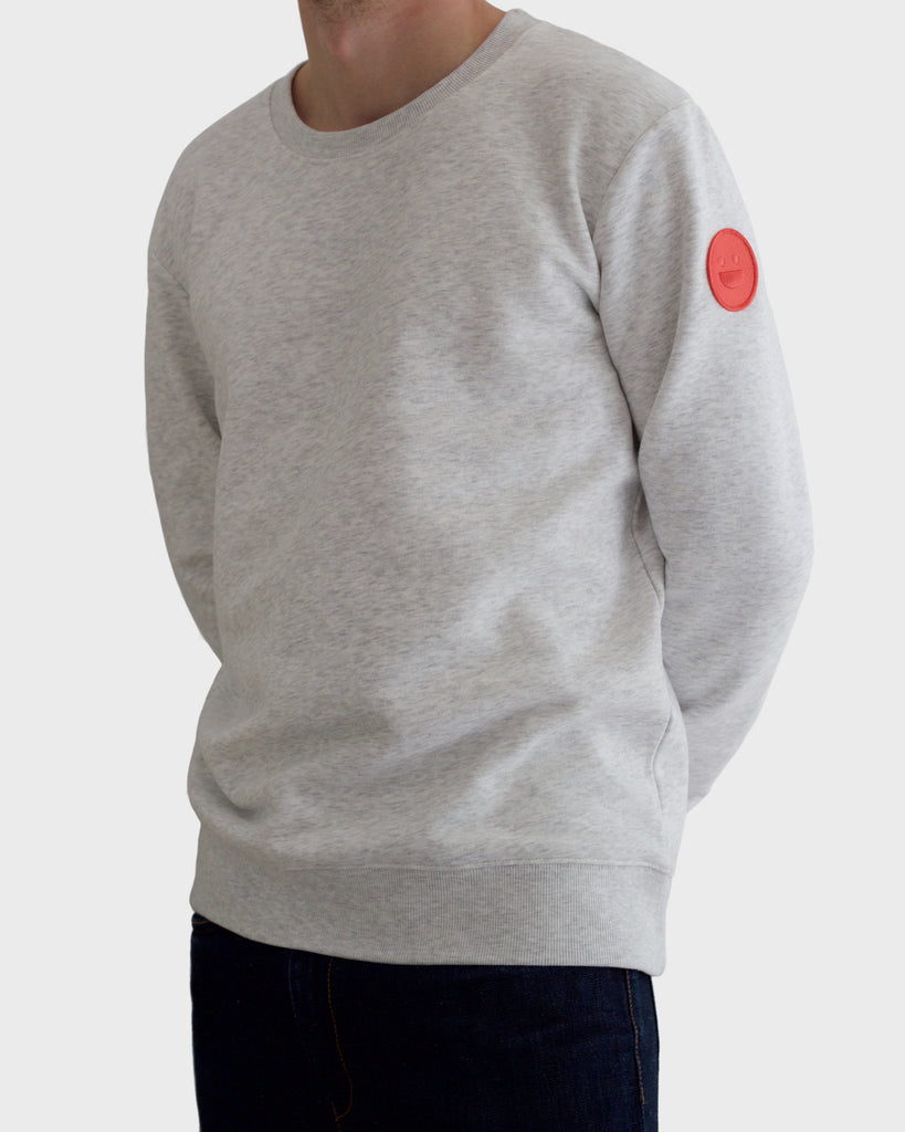 Light Grey Sweatshirt - HAPI Studios