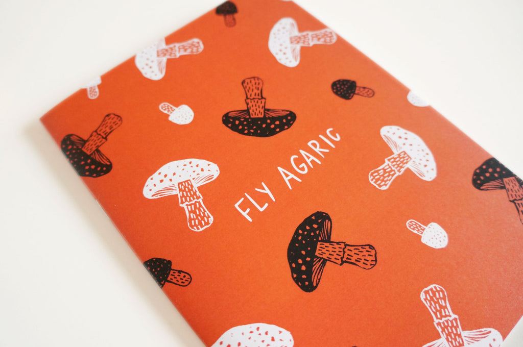 Mushroom Notebooks by The Little Matters
