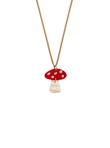 Toadstool Necklace by Tatty Devine