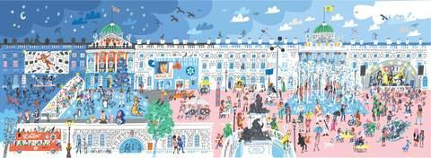 Somerset House Card by Peter Allen
