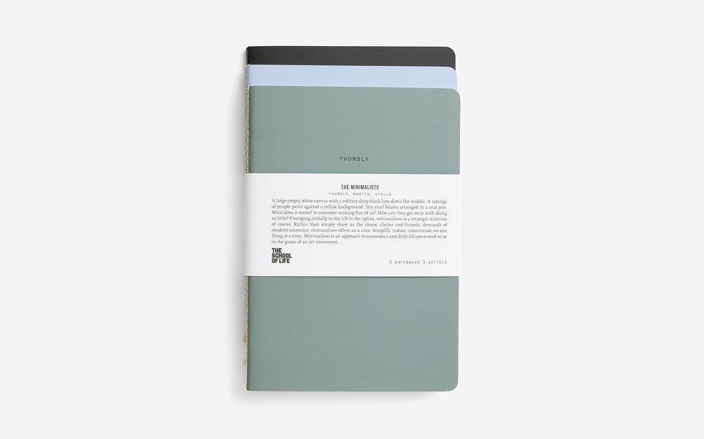 The School of Life - Minimalist Notebooks