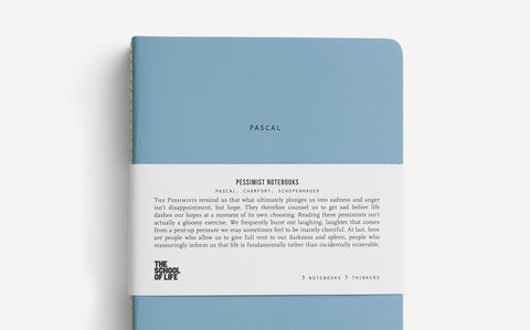 The School of Life  - Pessimist Notebooks