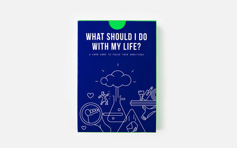 The School of Life - What Should I Do With My Life? Card Game