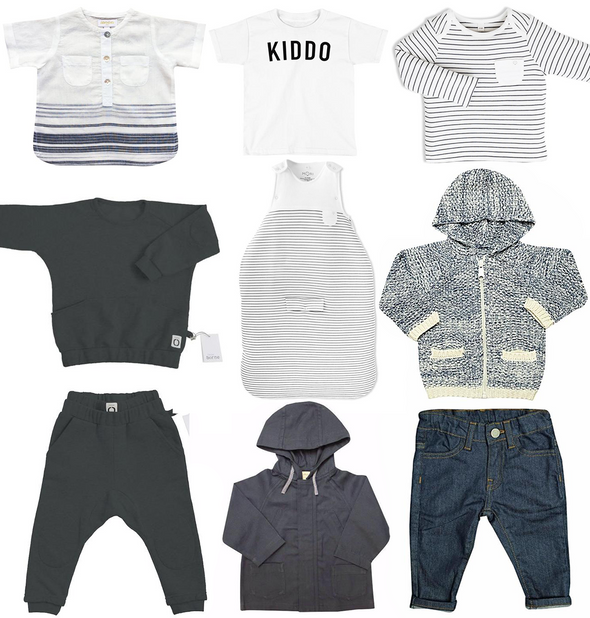 Toddler/Kid Boy Capsule Wardrobe