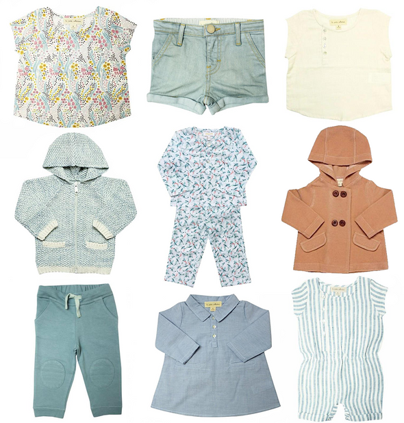 Toddler/Kid Girl Capsule Wardrobe