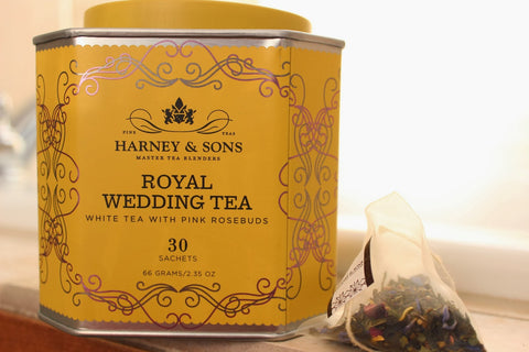 Poppys Collection Harney & Sons Royal Wedding Tea