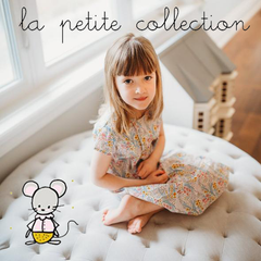 La Petite Collection is designed in France and made by a family-run factory in Mauritius. The artisanal collection is known for its simple and practical pieces, many of which are unisex and can be passed on to baby's little brothers and sisters. Sizes run large at the beginning and more fitted near the end. You'll notice the sleeves of cardigans, dresses, and tops can be rolled up, as well as the pant legs. Above all else, La Petite Collection values quality. This collection features fabrics that are natural and soft, with 100% cotton, wool, and real Liberty of London fabrics. La Petit Collection is exclusive to Poppys Collection in Canada.
