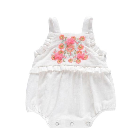 Poppys Collection Louise Misha Linen Anjali Romper