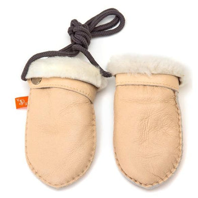 Love Winter Shearling Baby Mittens