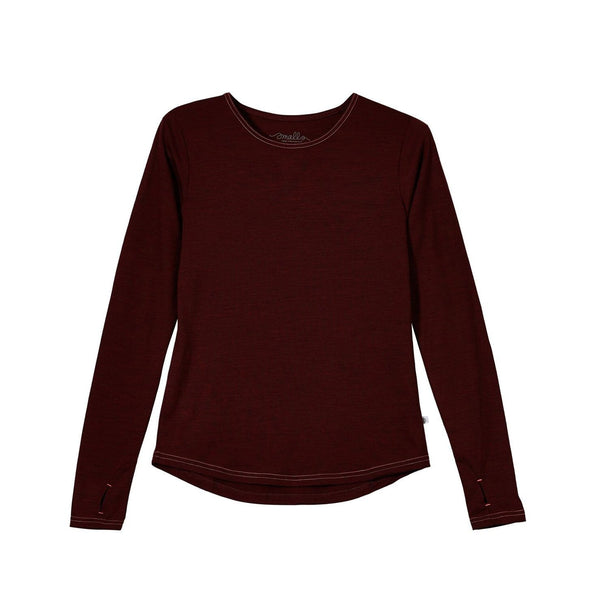Women's Ever Long Merino Tee in Italian Spun 190g