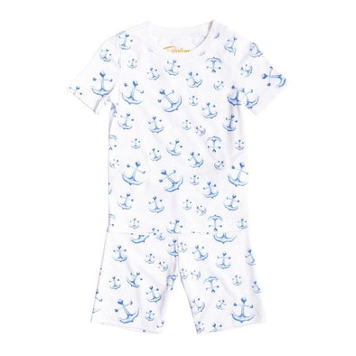 Short Sleeve Anchor PJs