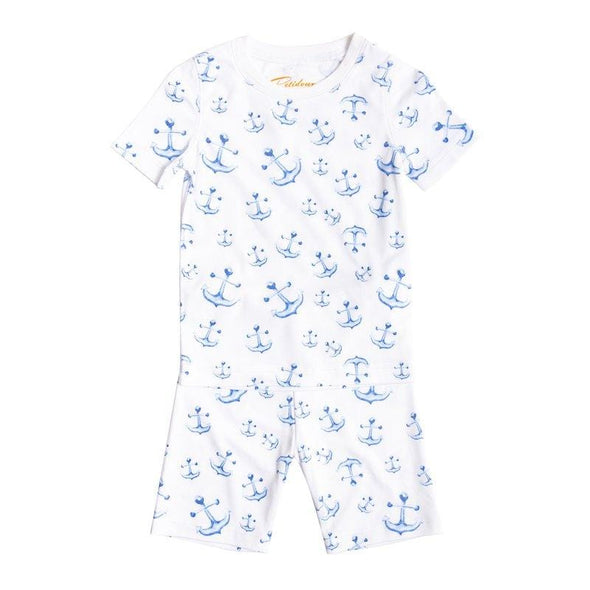 Short Sleeve Anchor Pyjama Set