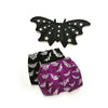 Poppys Collection Halloween Cute Fun Baby Bat Wings and Bloomers Black
