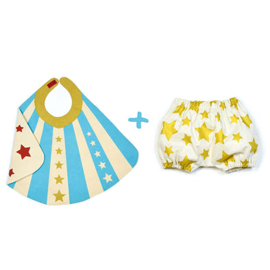 Baby Hero Cape and Bloomer Set