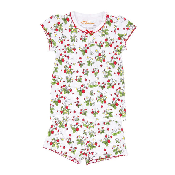 Short Sleeve Strawberry Jam PJs