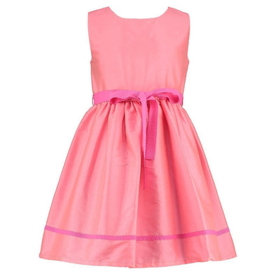 Charlotte Pink Taffeta Dress