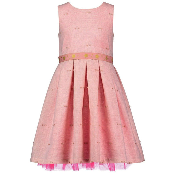 Faith Pink Sparkle Dress