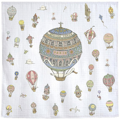 Hot Air Balloons Baby Blanket