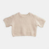 Boxy Mohair Cream Sweater
