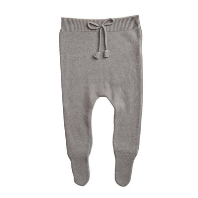 Merino Wool and Cashmere Cloud Grey Leggings