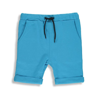 Aquarius Blue Long Shorts