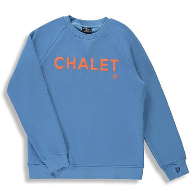 Chalet Blue Children's Unisex Crew Neck Sweater