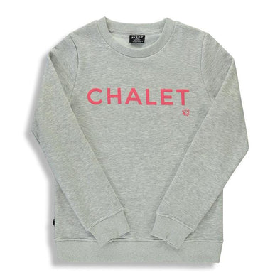 Chalet Grey Children's Unisex Crew Neck Sweater