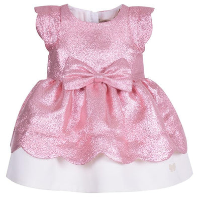 Scalloped Bodice Dress & Bloomers Sugarplum