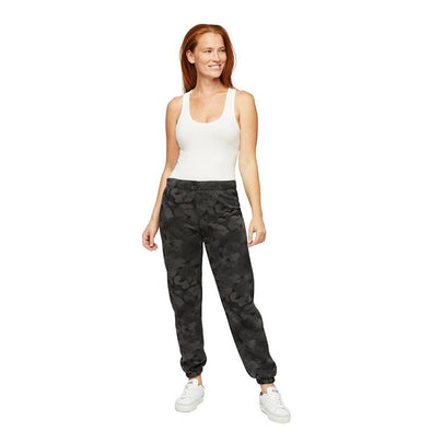 The Niki Original Sweatpants in Black Camo