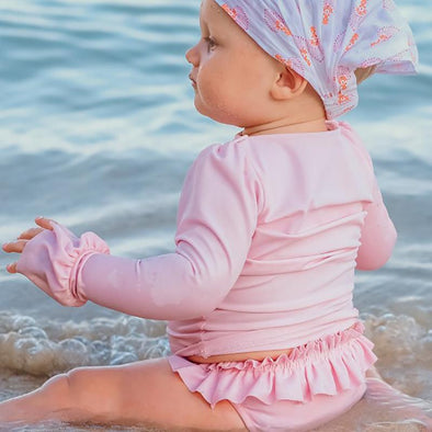 Pink baby beach Anti-UV T-Shirt
