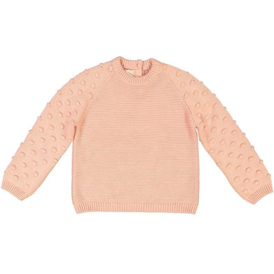 Adeyinka Bubble Gum Organic Cotton Jumper