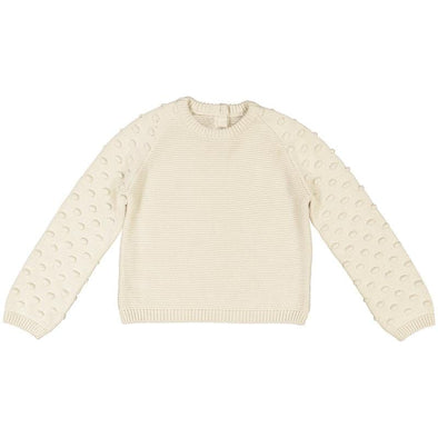 Adeyinka Cream Organic Cotton Jumper